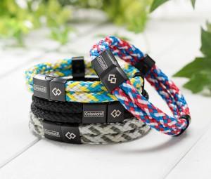 Loop AMU 4粒磁石編織手繩